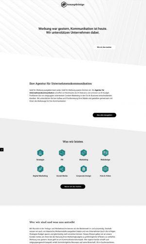 konzeptkoenige Website Screenshot